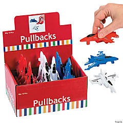 USA Pull-Back Fighter Jets