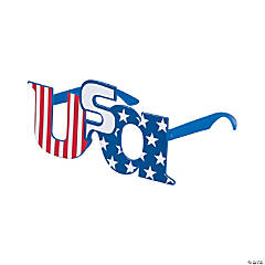 USA-Shaped Glasses