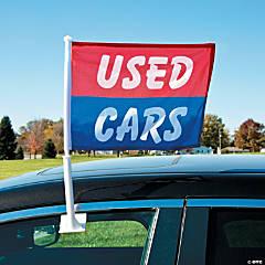 Used Cars Car Window Flags