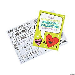Valentine Activity Books