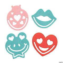 Valentine Bookmark Stencils