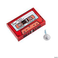 Valentine Cassette Favor Boxes