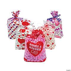 Valentine Cellophane Bags Assortment
