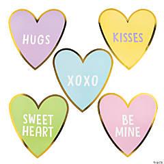 Valentine Conversation Heart Cutouts