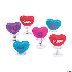 Valentine Conversation Heart Pop-Ups