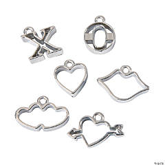 Valentine Cookie Cutter Shape Charms