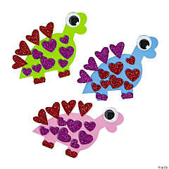 Valentine Dinosaur Magnet Craft Kit