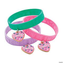Valentine Donut Bracelet with Charm