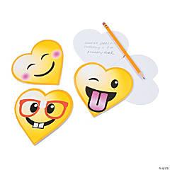 Valentine Emoji Notepads