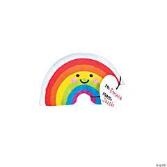 Valentine Exchange Plush Rainbows