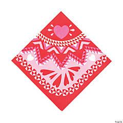 Valentine Fiesta Luncheon Napkins