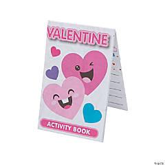 Valentine Fold-Up Activity Sheets