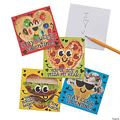 Valentine Food Notepads