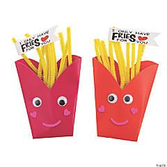 Valentine French Fries Craft Kit