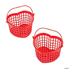 Valentine Heart-Shaped Baskets