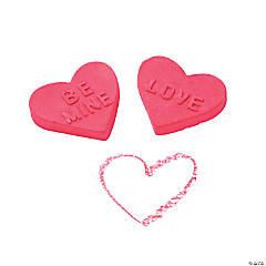 Valentine Heart-Shaped Chalk