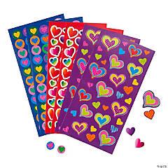 Valentine Heart Sticker Sheets