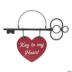 Valentine Key Heart Sign