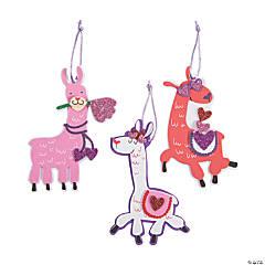 Valentine Llama Ornament Craft Kit