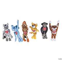 Valentine Long Arm Stuffed Animals