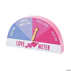 Valentine Love Meter Tabletop Sign