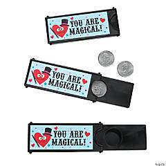 Valentine Magic Coin Tricks