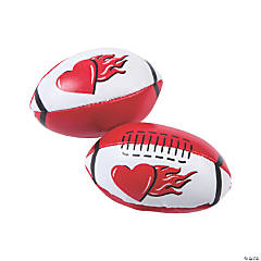 Valentine Mini Footballs