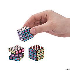 Valentine Mini Puzzle Cubes