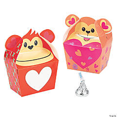 Valentine Monkey Treat Boxes