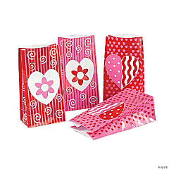 Valentine Paper Bags