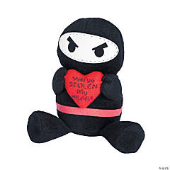 Valentine Plush Ninjas