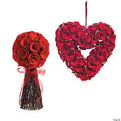 Valentine Red Rose Heart Decorating Kit