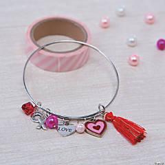 Valentine's Bangle Bracelet Idea