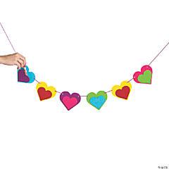 Valentine's Day Countdown Garland