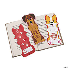 Valentine's Day Dog Bookmarks