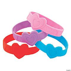 Valentine's Day Heart Bracelets