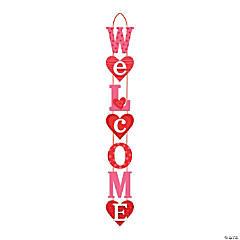 Valentine's Day Hearts Door Sign