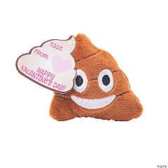 Valentine's Day Plush Emoji Poo PDQ