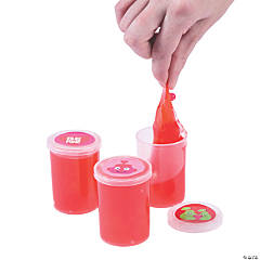 Valentine's Day Slime Containers with Water Beads