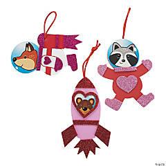Valentine's Day Space Animal Ornament Craft Kit