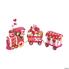Valentine's Day Tabletop Train