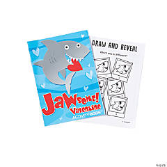 Valentine Shark Activity Books