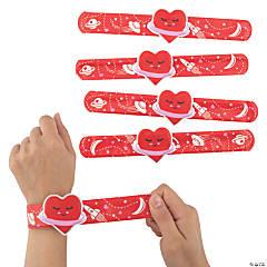 Valentine Slap Bracelets with Charm