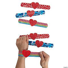 Valentine Slap Bracelets with Maze Puzzle