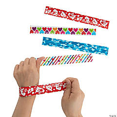 Valentine Slap Bracelets