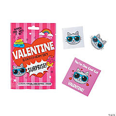 Valentine Stationery Set Surprise Blind Bags PDQ