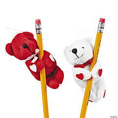 Valentine Stuffed Bear Huggers