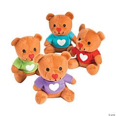 Valentine Stuffed Bears with T-Shirts