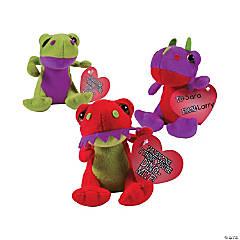 Valentine Stuffed Dinosaurs