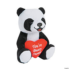 Valentine Stuffed Pandas